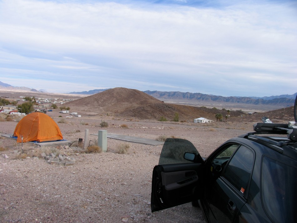 Desert Camp Site